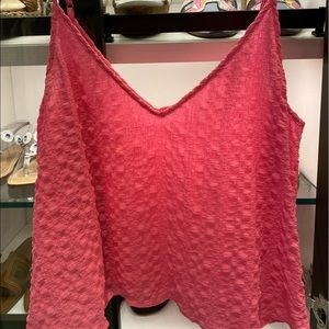 Lilly Pulitzer flowy pink tank top